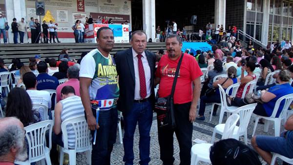 Paulo Guedes participa de Assembleia do Sind-UTE