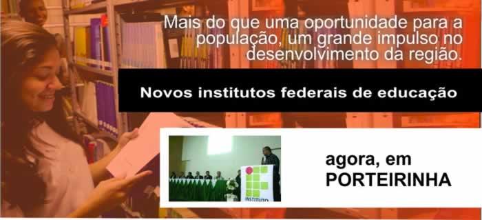 instituto federal em Porteirinha